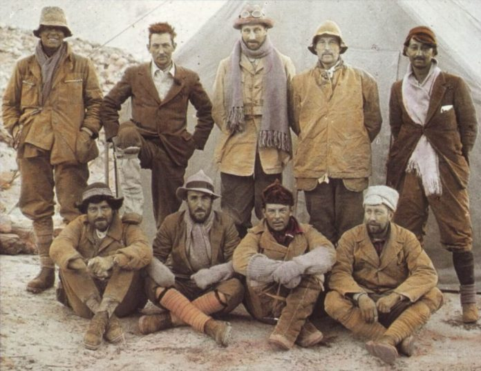 1924 group of everest